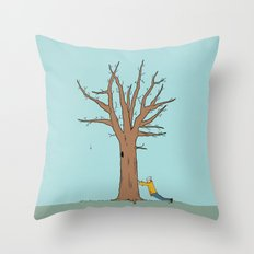 Immovable Throw Pillow