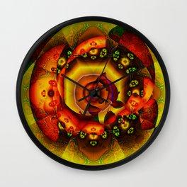Internal Combustion Wall Clock