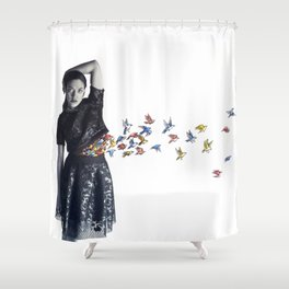 Untitled IV Shower Curtain
