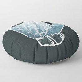 Misty Forest Hang Loose Floor Pillow
