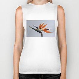 The bird of paradise flower Biker Tank