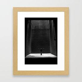 lift me up Framed Art Print