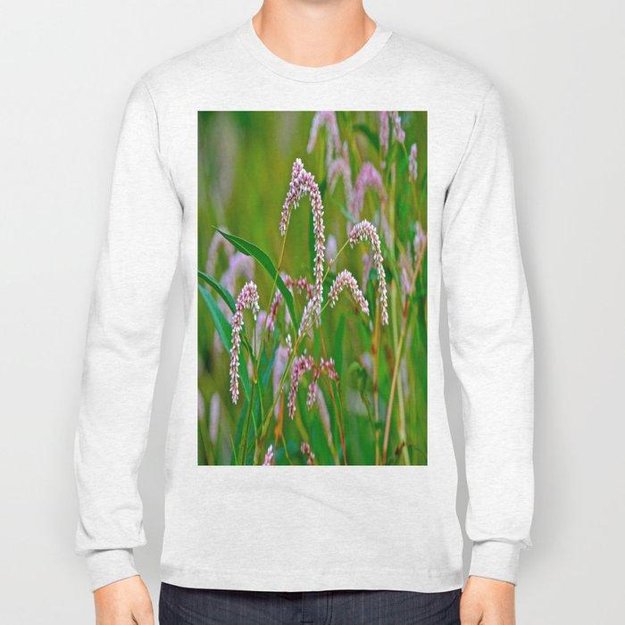 Pink Flop Long Sleeve T-shirt