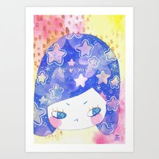 cosmic thoughts Art Print