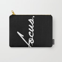 Focus - version 2 - white Carry-All Pouch