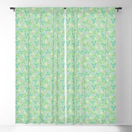 Whimsical Leaves Blackout Curtain