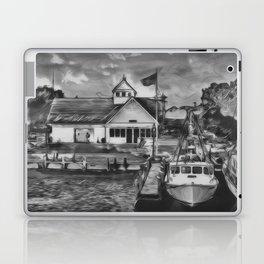 Coastguard Hyannis BW Laptop & iPad Skin