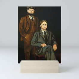 Dwight And Mose Painting Photographic Print Mini Art Print