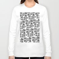 edinburgh Long Sleeve T-shirts featuring Little Edinburgh by Peony Gent