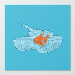 Fish Tank Canvas Print