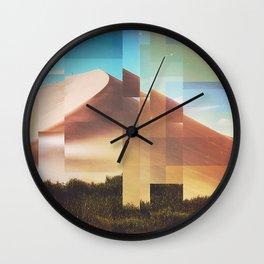 Fractions C08 Wall Clock