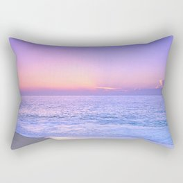 ocean sunrise Rectangular Pillow