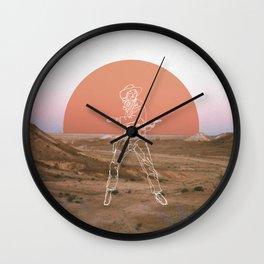 Bang! Bang! Wall Clock