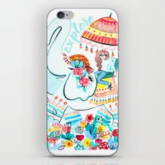 Explore Thai Elephant Travel iPhone & iPod Skin