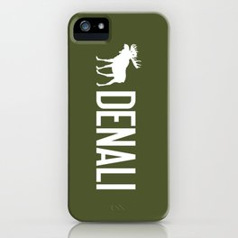 Denali Moose iPhone Case