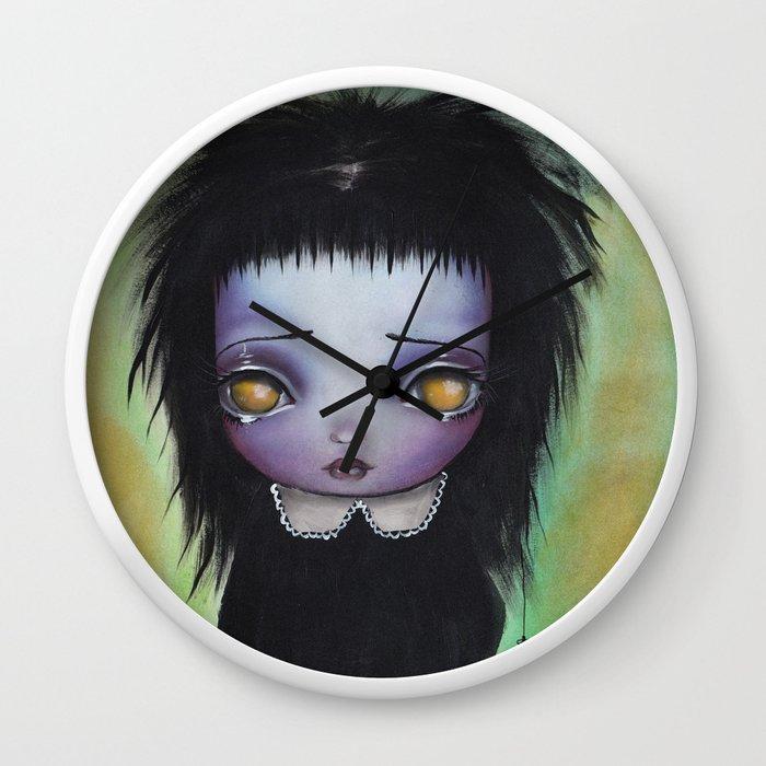 Lydia Deetz Wall Clock