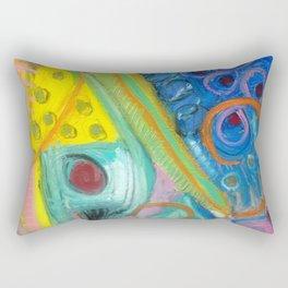 Abstract Boogie Woogie Rectangular Pillow