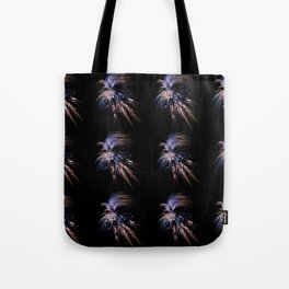 Feather firework Tote Bag