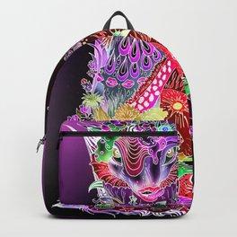L - deep violet Backpack