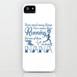 Running Nana iPhone Case