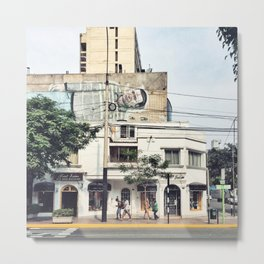 Streetart #eclecticart Metal Print