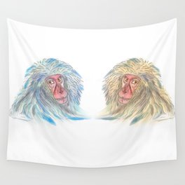 Macaco blues Wall Tapestry
