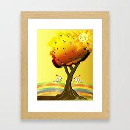 Inspiration of the day Framed Art Print