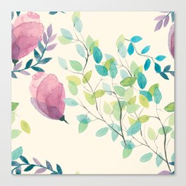 The Spring Leaves Canvas Print