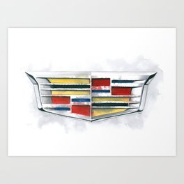 Cadillac #1 Art Print