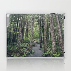A walk through the trees Laptop & iPad Skin