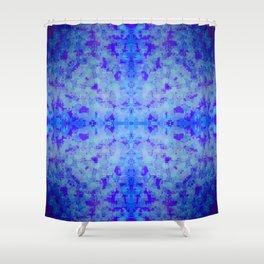 jewelled cross 3 Shower Curtain