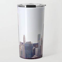 Chicago River Skyline Travel Mug