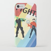 fight iPhone & iPod Cases featuring FIGHT! by Lena Lang