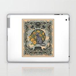 Cat Nouveau Laptop & iPad Skin