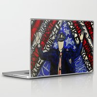 "police Laptop & iPad Skins featuring ""Police Yourself"" by Matthew Z Kessler"