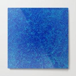 blue no. 1 Metal Print