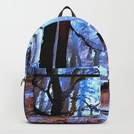 Sunrays In Forest Clearing Ultra HD Backpack