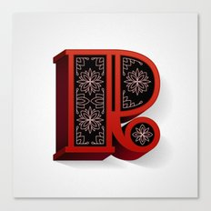 The Letter R Canvas Print