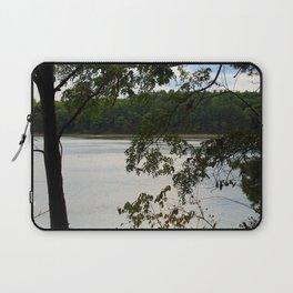 Walden Pond Through the Trees Laptop Sleeve