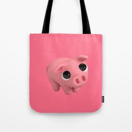 Rosa the Pig is Shy Tote Bag