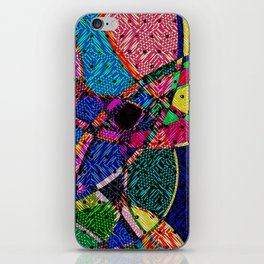 Festival Knit iPhone Skin
