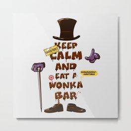 Wonka Bar Metal Print