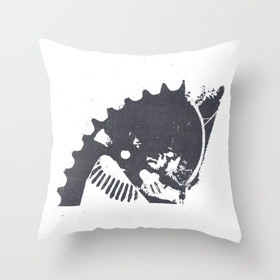 Industrial II Throw Pillow