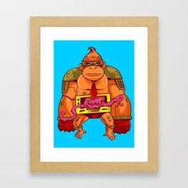 Donkey Krang v. 1.0 Framed Art Print
