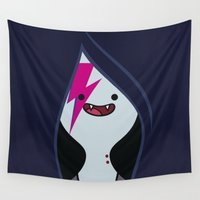 marceline Wall Tapestries featuring Marceline Stardust by lapinette