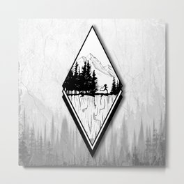 Forest Runner Metal Print