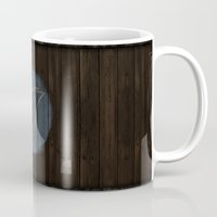 skyrim Mugs featuring Shield's of Skyrim - Windhelm by VineDesign