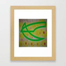 Crossing over to you Benita Framed Art Print