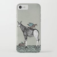 starry night iPhone & iPod Cases featuring Starry Night by Kianna Kilgren