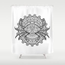 Cancer Mantra Shower Curtain
